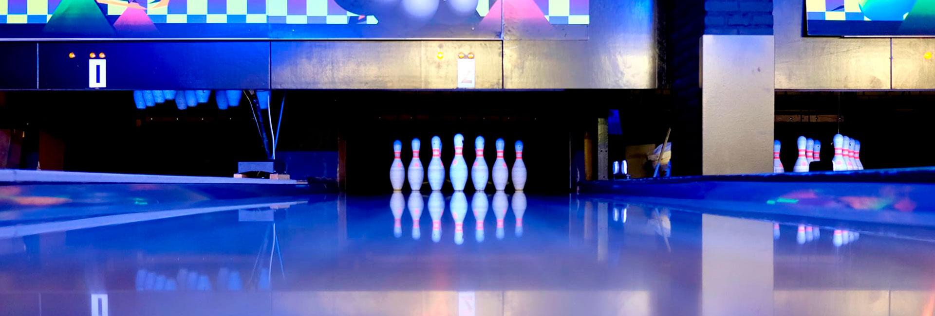 kegler til en julefrokost med bowling